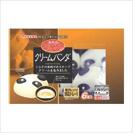 丸大食品クリームパンダ